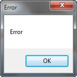 general error